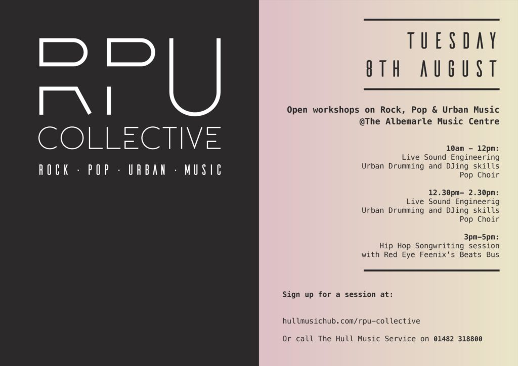 RPU Collective Launch @ The Albemarle Music Centre | England | United Kingdom