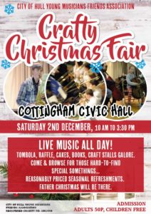 Crafty Christmas Fair - Friends' Association @ Cottingham Civic Hall | England | United Kingdom