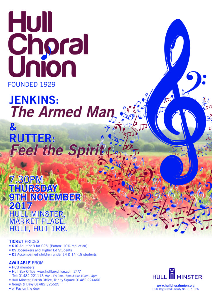 Hull Choral Union - Jenkins, Rutter @ Hull Minster | England | United Kingdom