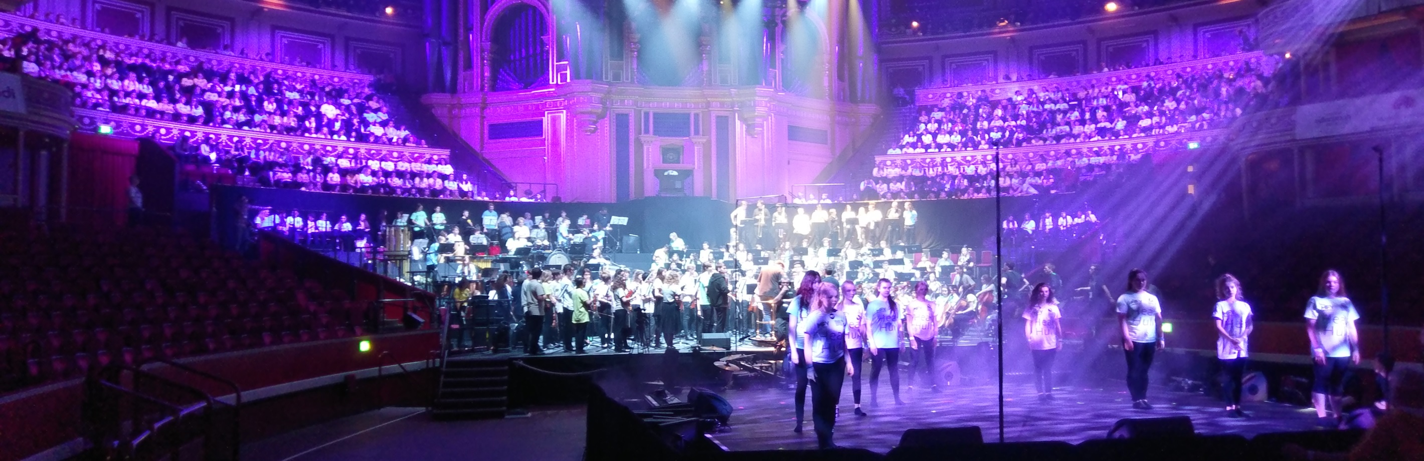 #Hear Hull Massed Ensemble at the Royal Albert Hall