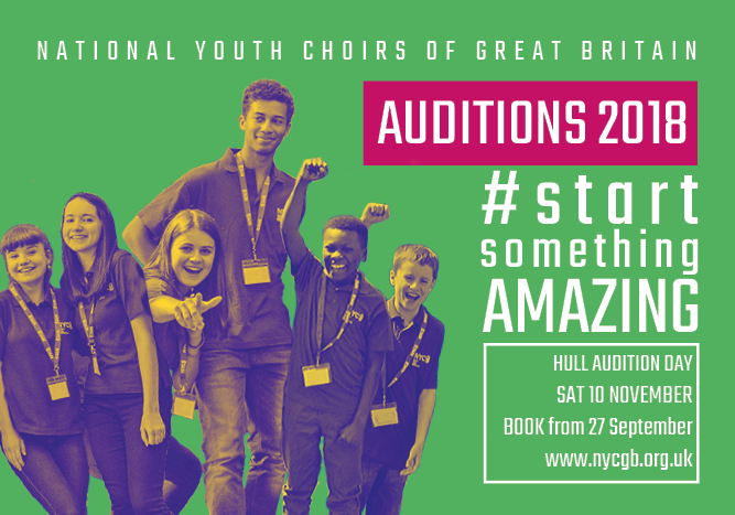 National Youth Choirs of Great Britain – Hull Auditions